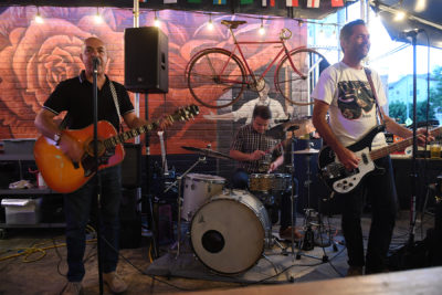The Odd Numbers performing at Park Station Hashery