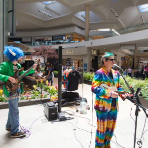 Band, Purple Fox and the Heebie Jeebies, performing at Eastridge Center
