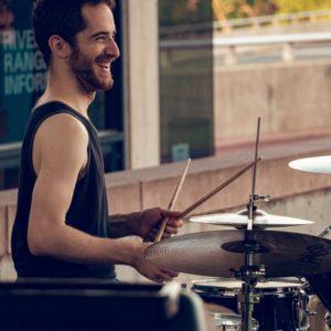 Dan Deutsch on the drums.